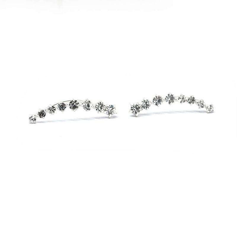 1a9ef23f5dd5 ... plata 7 circonitas+estrella. Anterior Siguiente. El increíble diseño de  estos pendientes combina el gusto artístico y el estilo aristocrático.