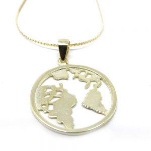 Colgante Mapa del mundo...