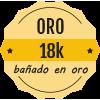 Bañado en oro 18K